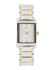 Casio Men Silver Dial Watch