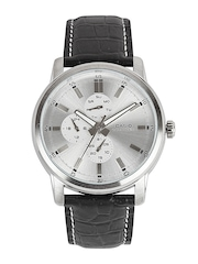 Casio Men Silver Toned Dial Watch
