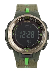 Casio Protrek Men Olive Green Digital Watch