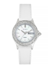 Casio Sheen Women White Dial Watch SX103