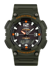 Casio Youth Series Men Olive Analogue & Digital Watch AD175