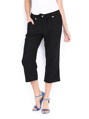 The Collection by Debenhams Women Black Cropped Trousers