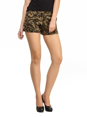 Cation Women Camouflage Shorts