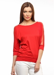 Cation Women Red Top