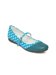 Catwalk Women Blue Flat Shoes