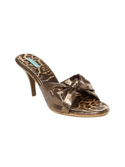 Catwalk Women Bronze Toned Heels