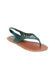 Catwalk Women Green Sandals