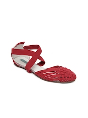 Catwalk Women Red Sandals