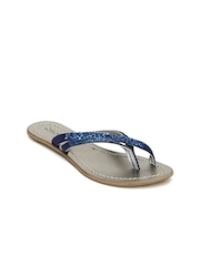 Catwalk Women Shimmering Blue Sandals