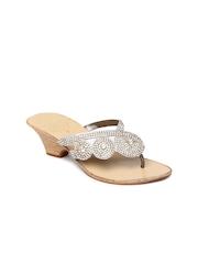 Catwalk Women Silver Toned Sandals
