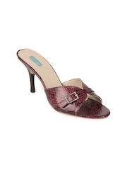Catwalk Women Maroon Heels