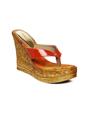 Catwalk Women Orange Sandals