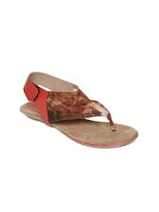 Catwalk Women Red Thong Style Flats
