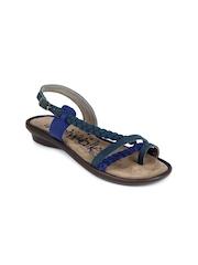 Catwalk Women Blue Braided Flats