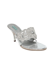 Catwalk Women Silver Toned Sandals
