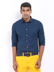 Celio Men Blue Casual Shirt