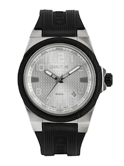 Cerruti 1881 Men Silver Toned Dial Watch