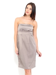 Chemistry Taupe Tube Dress