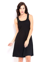 Chemistry Black A-line Dress