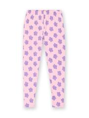 Cherokee Girls Pink Floral Printed Leggings