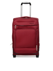 Cherokee Unisex Red Trolley Suitcase
