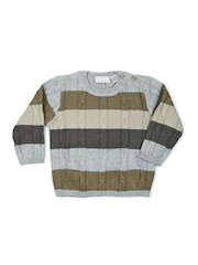 Chicco Boys Grey Striped Sweater