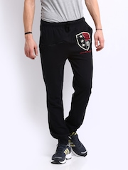 Chromozome Men Black Track Pants