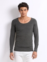 Chromozome Men Charcoal Thermal T-shirt TH-01