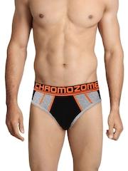 Chromozome Men Black Briefs FL-1