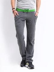 Chromozome Men Grey Track Pants