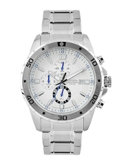Citizen Men Off-White Dial Watch