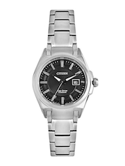 Citizen Women Black Dial Eco-Drive Watch
