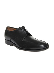 Clarks Men Black Dexie Over Leather Formal Shoes