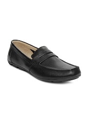 Clarks Men Black Malta Rider Casual Shoes