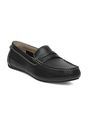 Clarks Men Black Marcos Drive Casual Shoes