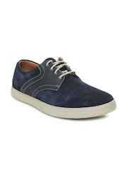 Clarks Men Blue Favor Lace Casual Shoes