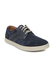 Clarks Men Blue Favor Lace Casual Shoes