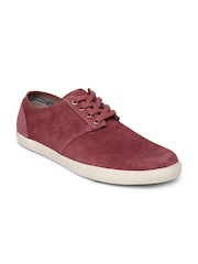 Clarks Men Brick Red Torbay Lace Casual Shoes