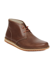 Clarks Men Brown Maxim Top Casual Shoes