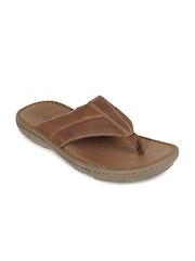 Clarks Men Brown Villa Beach Sandals