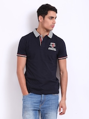 Classic Polo Men Navy Polo T-shirt