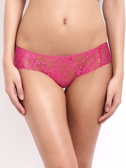 Cloe Women Pink Lacy Briefs PN0105Q14