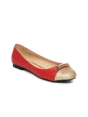Cocoon Women Red Ballerinas
