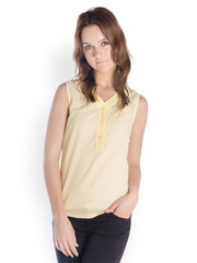 Co.in Women Yellow Top