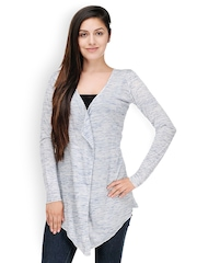 Color Cocktail Grey Melange Shrug