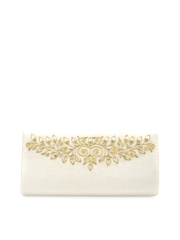 Color Cocktail White Clutch