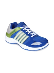 Columbus Men Blue & White Sports Shoes