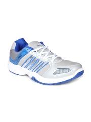 Columbus Men Grey & Blue Sports Shoes