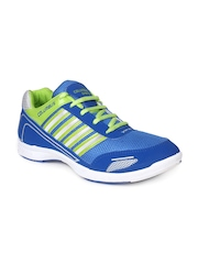 Columbus Men Blue & Green Sports Shoes