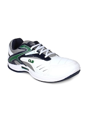 Columbus Men White Sports Shoes